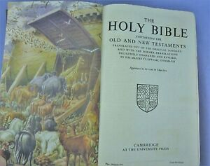 Vintage Illustrated Holy Bible