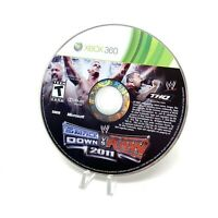 WWE SmackDown vs. Raw 2011 (Microsoft Xbox 360, 2010) Disc Only Tested