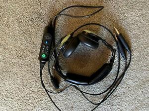David Clark DCPRO-X aviation headset - GA dual plug