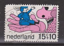 NVPH Netherlands Nederland 913 TOP CANCEL BORGER kinderzegels 1968 Pays Bas