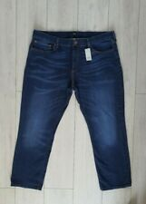 MENS RIVER ISLAND BLUE DYLAN SLIM DENIM JEANS W40 L30 BNWT