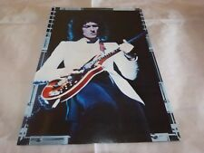 BRIAN MAY - Mini poster couleurs !!! VINTAGE 70'S !!!