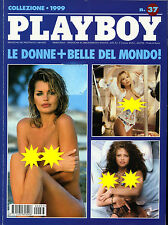 """* PLAYBOY : COLLEZIONE N° 37/1999 """" LE DONNE + BELLE DEL MONDO ! """""""