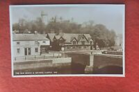THE NEW BRIDGE & ARUNDEL CASTLE    VINTAGE POSTCARD UNUSED