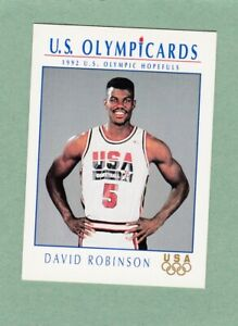 DAVID ROBINSON SAN ANTONIO SPURS 1992 US OLYMPIC HOPEFULS IMPEL CARD #16