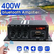 400W bluetooth Mini Power Audio Verstärker HiFi Bass AMP MP3 FM USB SD AutoHa