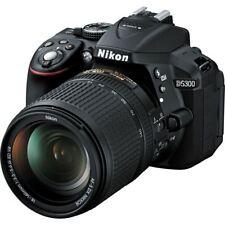 Nikon D5300 24.2 MP DSLR Camera with 18-140mm Lens Kit Black