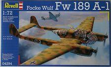 Revell Focke Wulf FW 189 A-1 1 72 Scale Plastic Model Kit Item 04294