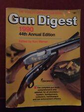 Gun Digest 1990 44th Annual Edition Book