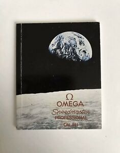 vintage omega speedmaster 861 cal. Manual
