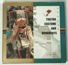 BOOK Tibetan Costume & Jewelry folk ornament ethnic dress monk robe priest coral