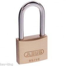 ABUS 6540HB40KA2 Security Padlock Brass Shackle Keyed Alike 40mm