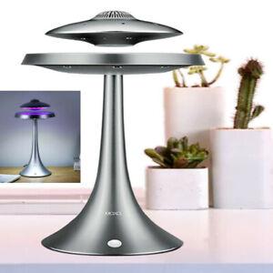 Levitating Floating Speaker Wired Magnetic UFO LED Lamp Bluetooth Speaker
