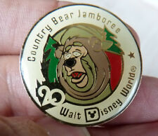 PIN'S WALT DISNEY WORLD COUNTRY BEAR JAMBOREE 20 ANS