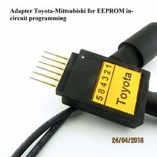 Toyota_Mitsubishi pogo adapter for in-circuit EEPROM programming new