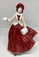 Royal Doulton Christmas Day 1999 Figurine HN4214 Hand Made & Decorated Pretty