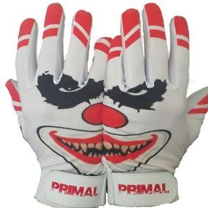 Men's Baseball CRAZY CLOWN Pro Quality Baseball Batting Gloves Size EXTRA LARGE