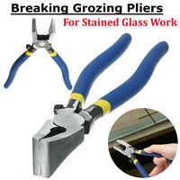 Grozier Grozing Pliers Tools - Stained Glass Leadlight Mosaics Breaking