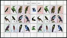 St. Maarten 2012 Vögel Birds Uccelli Oiseaux Eule Greifvogel ZD-Bogen  ** MNH