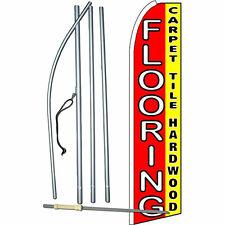 Flooring Carpet Tile Hardwood Flag Flutter Feather Banner Swooper Bundle Kit