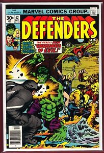 MARVEL _ THE DEFENDERS _ # 42 _ FN/VFN _ 1976 _