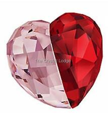 Brand New Swarovski Crystal Heart #5069539 Love Heart Light Siam Medium