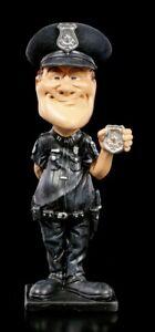 Emploi Drôle Figurine - Policier Avec Marque - Warren Stratford Occupation Déco