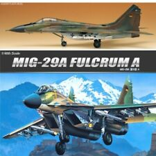 Academy 12263 MIG-29A Fulcrum A Air Craft Combat Plane Millitary Assembly
