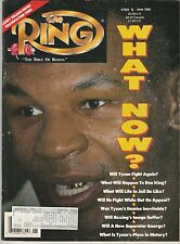 THE RING MAGAZINE MIKE TYSON BOXING HOFer (A ONE OF A KIND !) COVER JUNE 1992