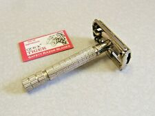 Vintage 1960's Super Cross #850 Double Edge Safety Razor - Japan