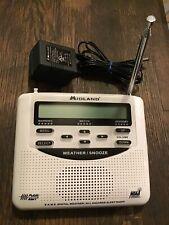 NEW MIDLAND EMERGENCY WEATHER ALERT RADIO MODEL WR-120