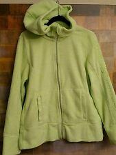 CALVIN KLEIN PERFORMANCE Quick Dry Hooded Zipper Fleece Jacket Size L