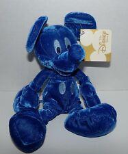 "MBBP Cobalt Blue Mickey Bean Bag Plush 8"" Especially For Disney Store - NWT RARE"