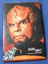 Star Trek The Next Generation Klingon Movie 1991 Advertising Button Pin Pinback