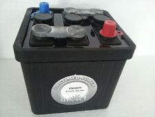 Oldtimerbatterie Intact  06611    6V  66Ah  für Oldtimer Bleibrüken Retro Optik