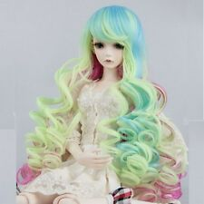 "[wamami] Colourful Wavy Wig 31-42cm 1/4 MSD AOD DOD DZ BJD Doll Dollfie 7""-8"""