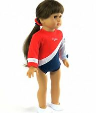 """Doll Clothes For AG 18"""" Gymnastic USA Made To Fit American Girl 18 Inch Dolls"""