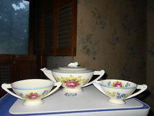 Art Deco Tea Set Canonsburg Pottery Co.USA 1920's? 30's? Beautiful Mold & Detail