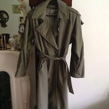 NUAGE Original  Rain Wear  Trench Coat in good condition.Size.14UK/12US