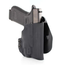 OWB KYDEX PADDLE HOLSTER for guns with INFORCE APLc (COMPACT) - MATTE BLACK