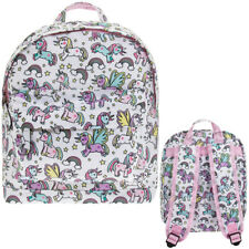 Little Stars Unicorn Backpack Pink 300mm X 230mm
