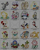 2800+/-   APPLIQUE DESIGNS BROTHER EMBROIDERY MACHINE DESIGN COLLECTION SET PES