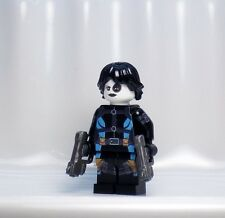 A1321 Lego CUSTOM PRINTED X Men Force INSPIRED DOMINO MINIFIG Deadpool Cable