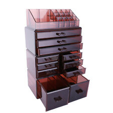 11 Drawers Containers Cosmetic Organizer Jewelry Lipstick Storage Makeup Case