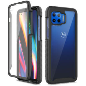 For Motorola One 5G Ace / One 5G UW / G 5G Plus Case Built in Screen Protector