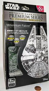Disney Metallic Nano puzzle premium series STAR WARS Millennium Falcon.Japan.New