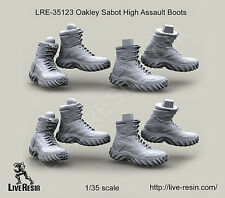 Live Resin 1:35 Oakley Sabot High Assault Boots LRE35123*