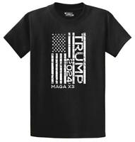 Mens Trump 2024 MAGA x3 T-Shirt Elections Politics President Usa