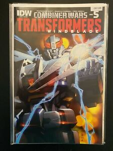 Combiner Wars Transformers Windblade 3 Prowl High Grade IDW CL97-146