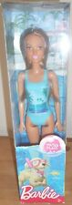 BARBIE Water Play Play DOLL MATTEL 30 cm BAMBOLA OVP
